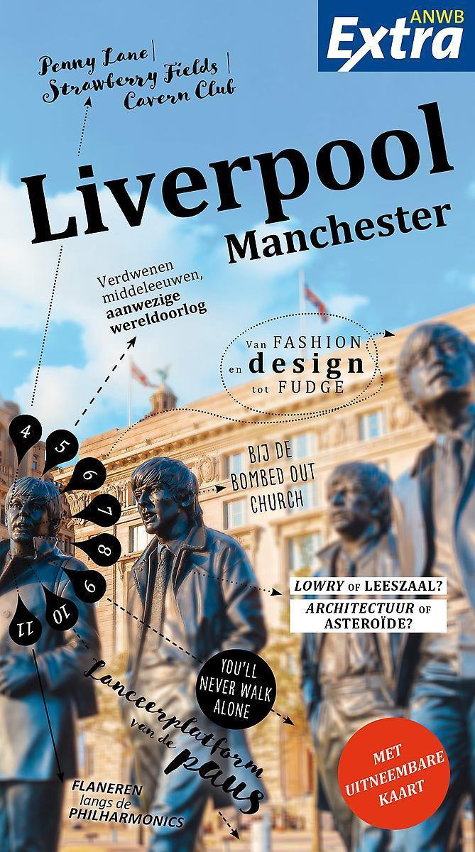 ANWB Extra reisgids Liverpool 9789018045807  ANWB ANWB Extra reisgidsjes  Reisgidsen Liverpool