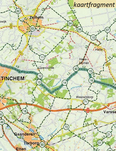 FKP-25 Veluwe, Twente & Achterhoek | 1:90.000 9789028703889  Falk Fietsknooppuntenkaart  Fietskaarten Oost Nederland