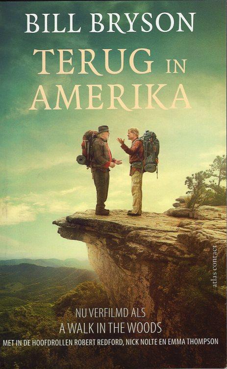 Terug in Amerika 9789045029467 Bill Bryson Atlas-Contact   Landeninformatie, Reisverhalen Verenigde Staten