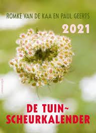 Tuinscheurkalender | Romke van der Kaa 9789045041193  Atlas-Contact Kalenders 2021  Kalenders Reisinformatie algemeen