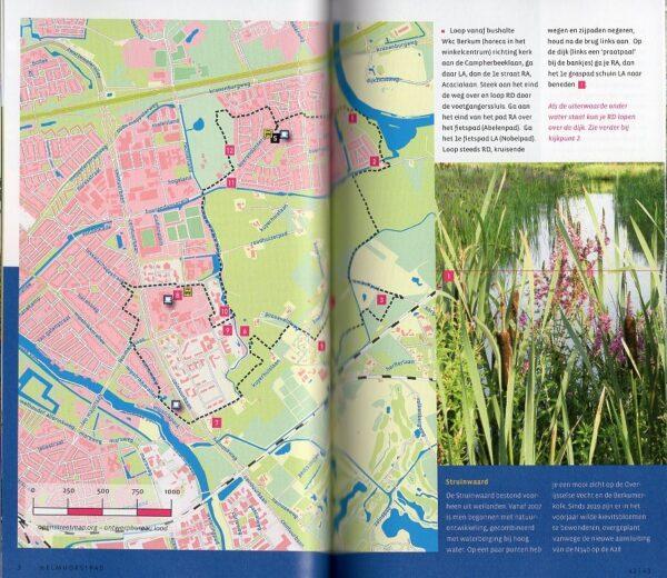 Wandelen buiten de binnenstad van Zwolle 9789078641841 Marycke Janne Naber Gegarandeerd Onregelmatig   Wandelgidsen Kop van Overijssel, Vecht & Salland