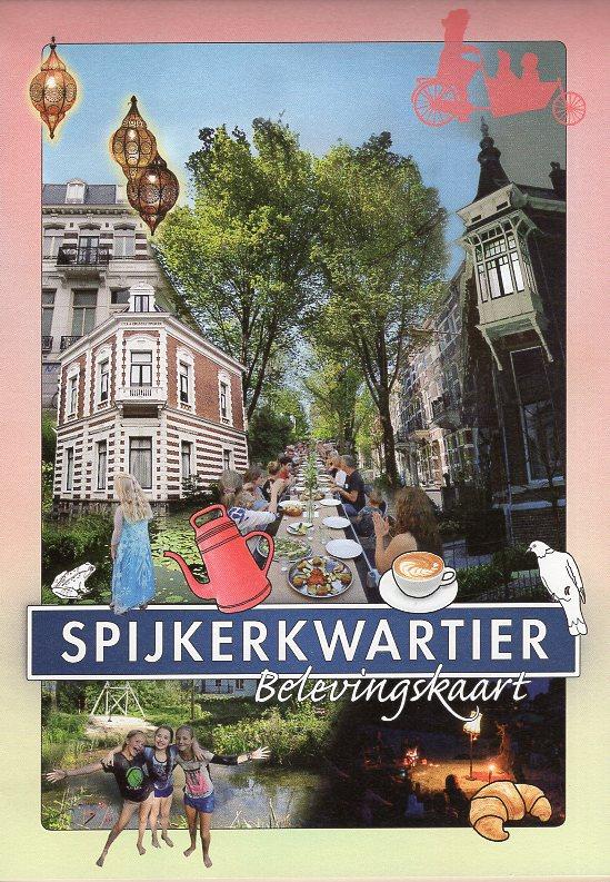 Spijkerkwartier Belevingskaart 9789090328263  Marieke van Doorn   Cadeau-artikelen, Stadsplattegronden Arnhem en de Veluwe