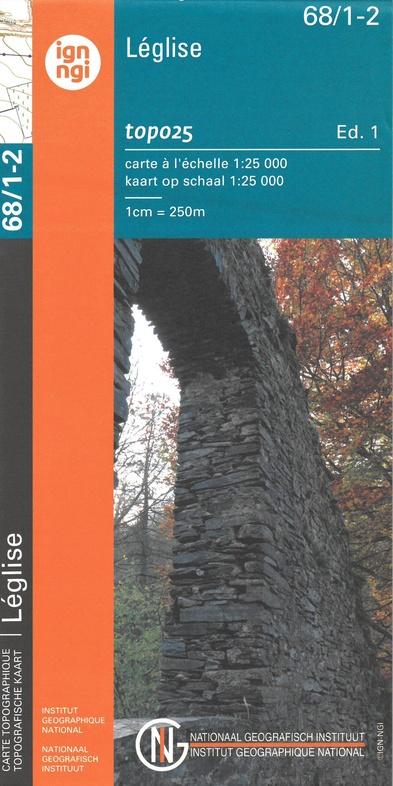 NGI-68/1-2  Assenois, Anlier | topografische wandelkaart 1:20.000 9789462353084  NGI Belgie 1:20.000/25.000  Wandelkaarten Wallonië (Ardennen)