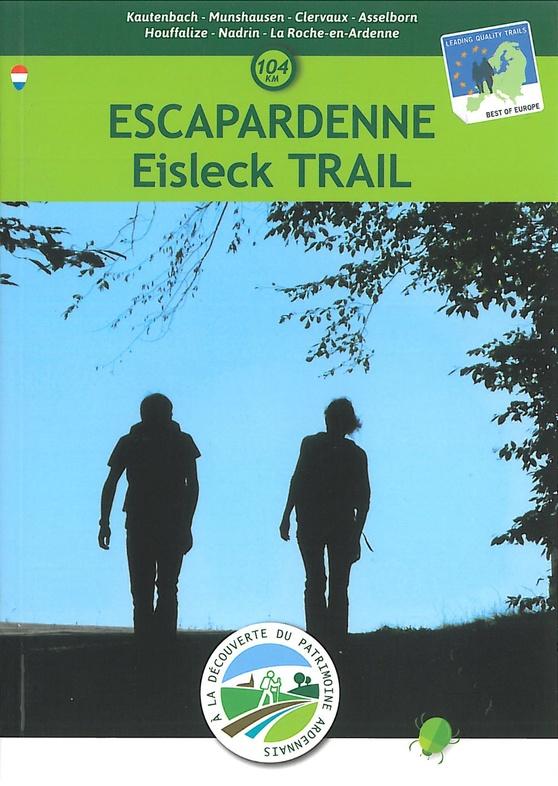 Escapardenne Eisleck Trail, kaart 1:25.000 9789462354135  NGIB   Wandelkaarten Wallonië (Ardennen)