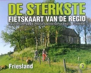 DSF-02 De sterkste fietskaart van Friesland 1:50.000 9789463690935  Buijten & Schipperheijn DSF  Fietskaarten Friesland