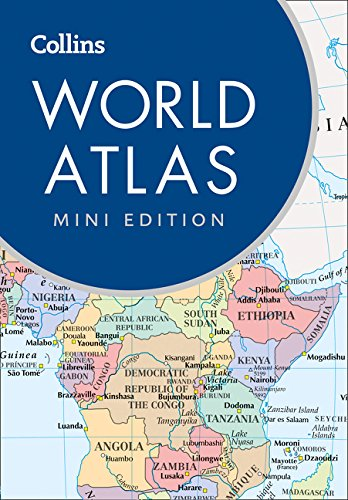 The Collins Atlas of the World/ mini edition 9780008136659  Collins   Wegenatlassen Wereld als geheel