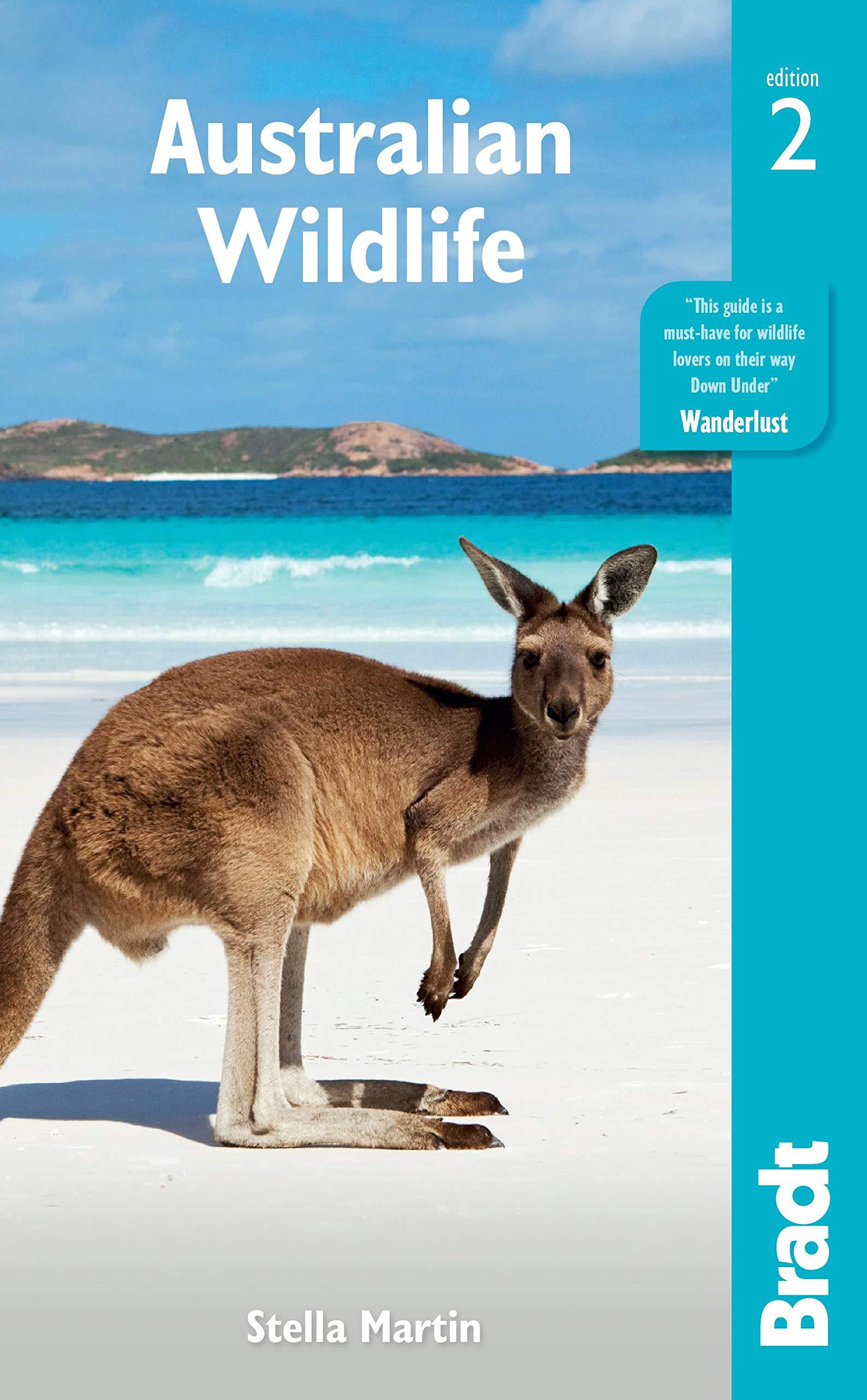 Australian Wildlife 9781784773458 Stella Martin Bradt Wildlife Guides  Natuurgidsen Australië