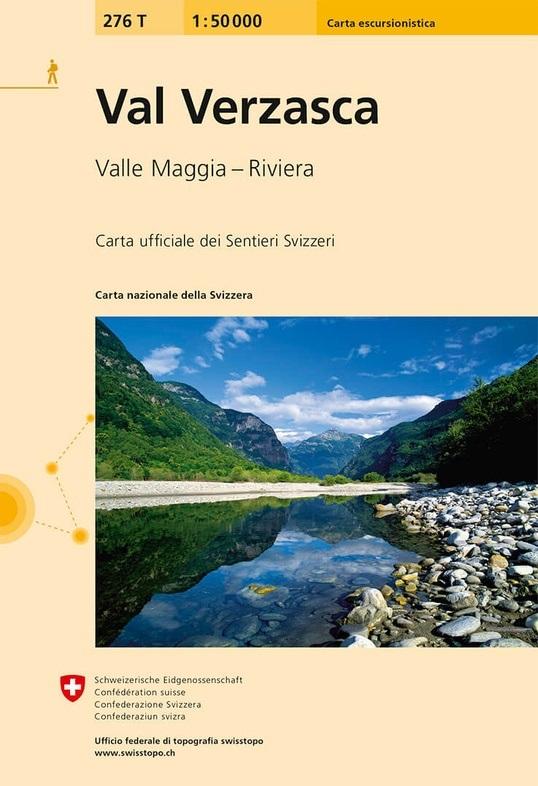 276T Val Verzasca [2020] 9783302302768  Bundesamt / Swisstopo SAW 1:50.000  Wandelkaarten Tessin, Ticino