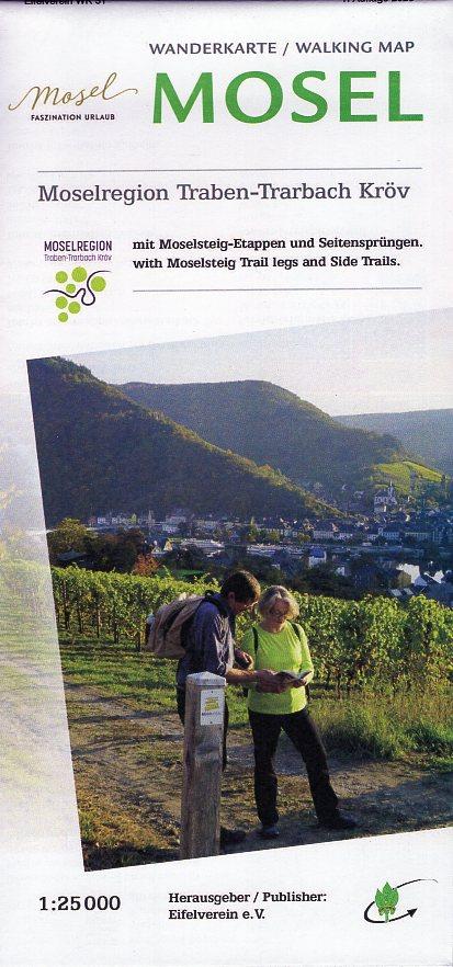 EV-31  Mittelmosel - Kondelwald | wandelkaart 1:25.000 9783944620244  Eifelverein Wandelkaarten Eifel  Wandelkaarten Moezel, van Trier tot Koblenz