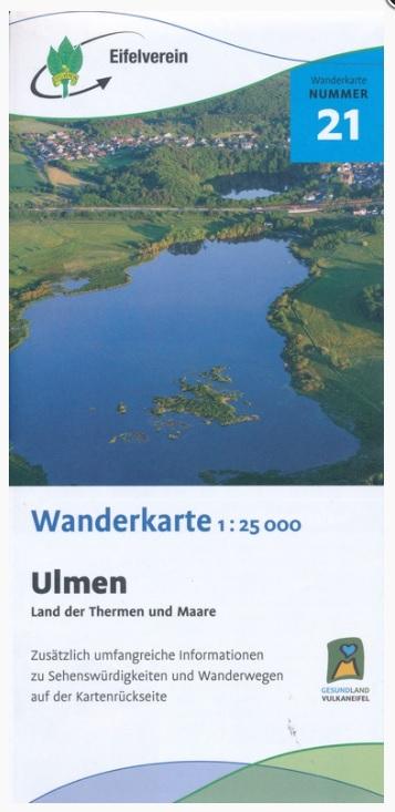 EV-21  Ulmen, Ferienland der Therme und Maare | wandelkaart 1:25.000 9783944620305  Eifelverein Wandelkaarten Eifel  Wandelkaarten Eifel
