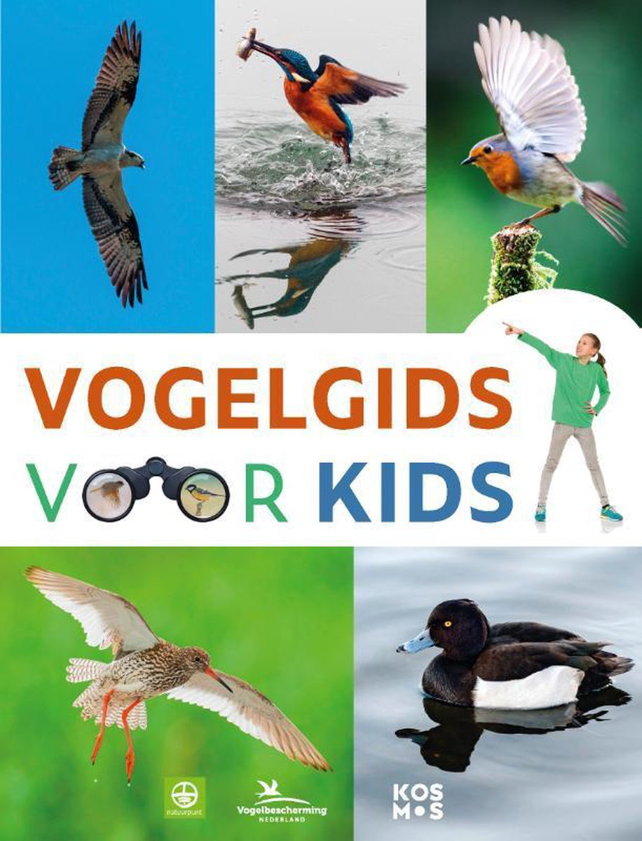 Vogelgids voor kids 9789021578156 Marc Duquet Kosmos   Kinderboeken, Natuurgidsen, Vogelboeken Benelux