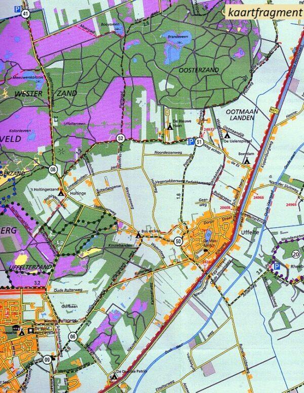 SBB-39 Dwingelderveld / Ruinen | wandelkaart 1:25.000 9789028703872  Staatsbosbeheer SBB kaart 1:25.000  Wandelkaarten Drenthe