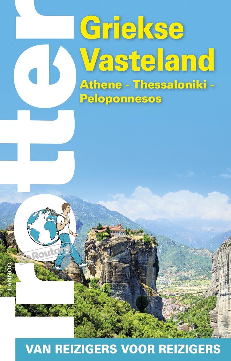 Trotter Griekse Vasteland 9789401466325  Lannoo Trotter  Reisgidsen Griekenland