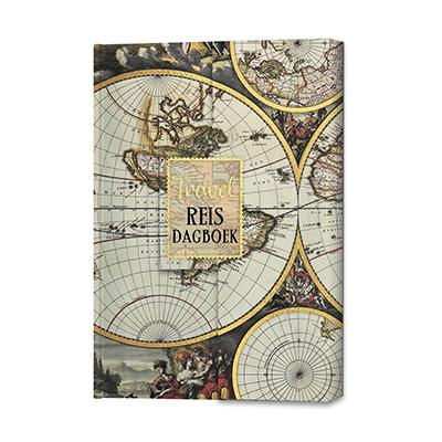 Travel Reisdagboek | luxe, groot formaat 9789463544887  Veltman   Reisverhalen Reisinformatie algemeen