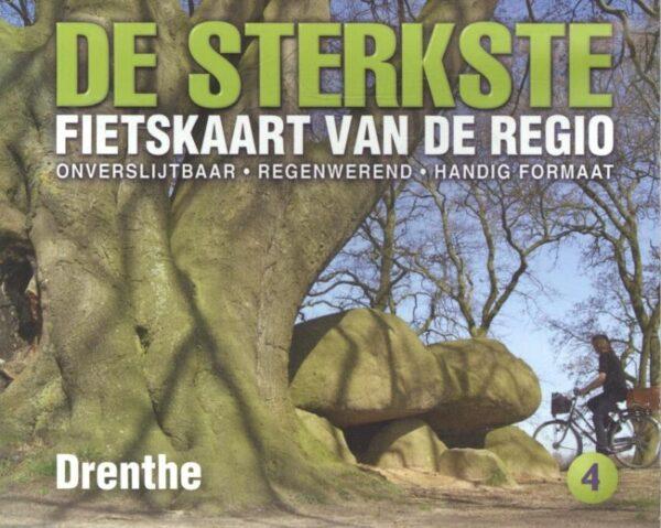 DSF-04 De sterkste fietskaart van Drenthe 1:50.000 9789463690942  Buijten & Schipperheijn DSF  Fietskaarten Drenthe