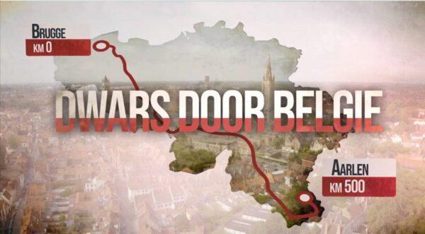Dwars door België | wandelgids 9789463832618 Arnout Hauben Van Halewyck   Meerdaagse wandelroutes, Wandelreisverhalen België & Luxemburg