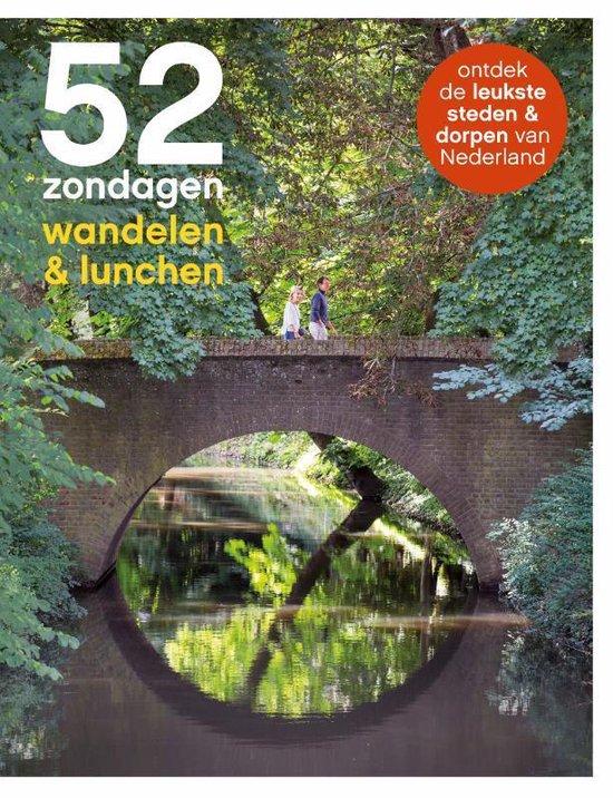 52 Zondagen: Wandelen en Lunchen 9789493195127  Mo Media   Reisgidsen Nederland