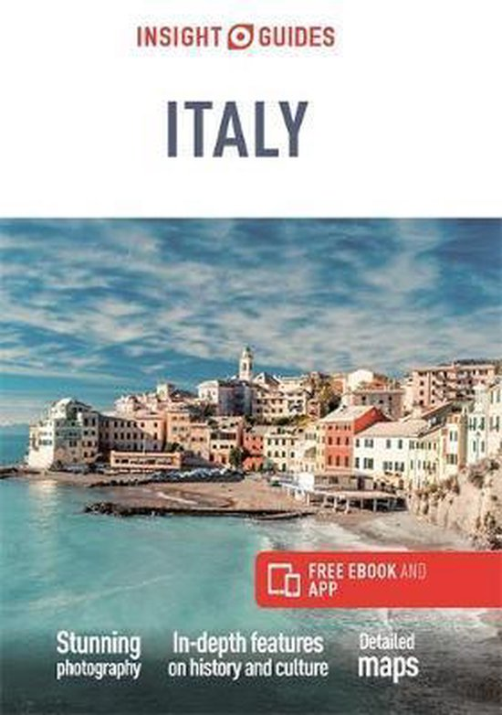 Insight Guide Italy 9781839050220  APA Insight Guides/ Engels  Reisgidsen Italië