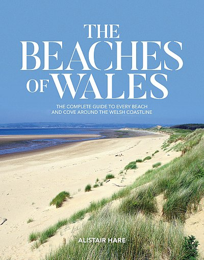 The Beaches of Wales 9781912560936 Alistair Hare Vertebrate Publishing   Reisgidsen Wales