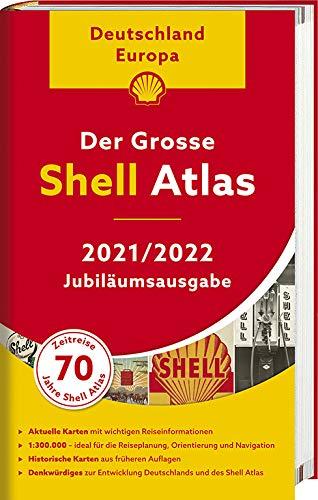 Der Grosse Shell Atlas 2021/2022 9783826460623  Mair   Wegenatlassen Europa