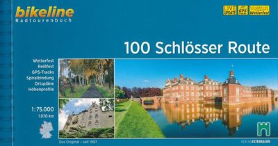 Bikeline 100 Schlösser im Münsterland | fietsgids 9783850008815  Esterbauer Bikeline  Fietsgidsen Münsterland, Bentheim