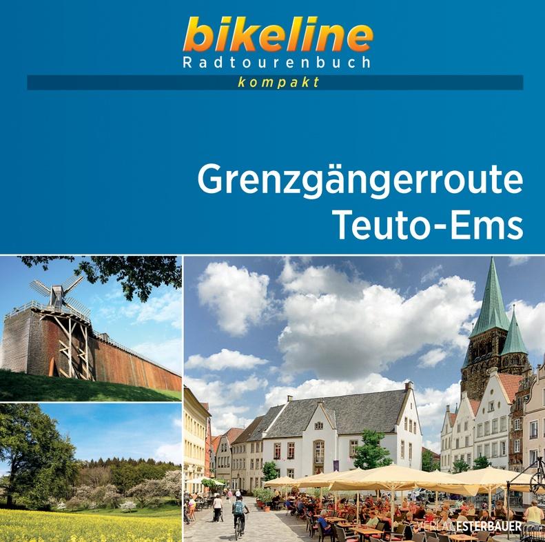 Bikeline Grenzgängerroute Teuto-Ems 9783850008945  Esterbauer Bikeline Kompakt  Fietsgidsen Sauerland