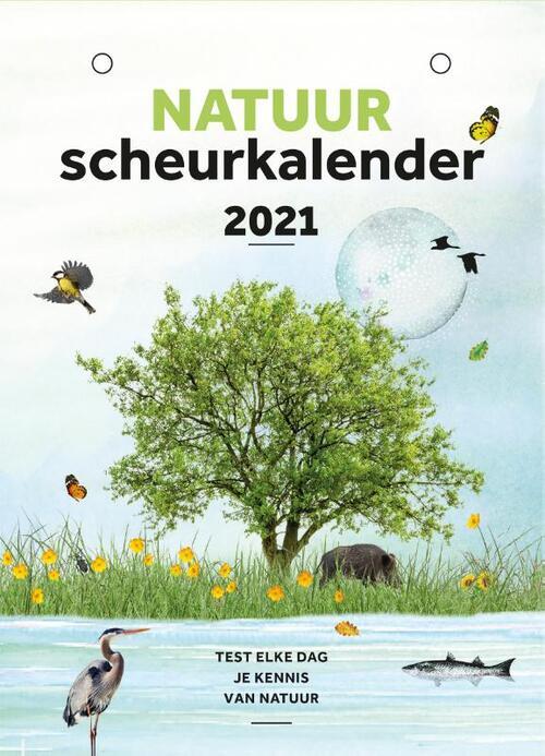Natuurscheurkalender 2021 9789021575377  Kosmos Kalenders 2021  Fietsgidsen, Kalenders Reisinformatie algemeen