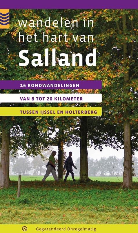 Wandelen in het Hart van Salland | wandelgids 9789078641315 Maarten Metz Gegarandeerd Onregelmatig   Wandelgidsen Kop van Overijssel, Vecht & Salland