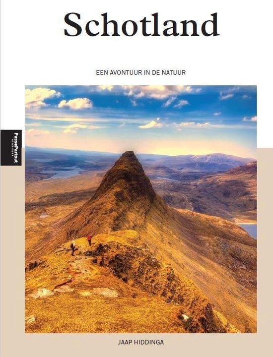 Schotland | een avontuur in de natuur 9789493160927 Jaap Hiddinga Edicola   Natuurgidsen, Reisgidsen Schotland