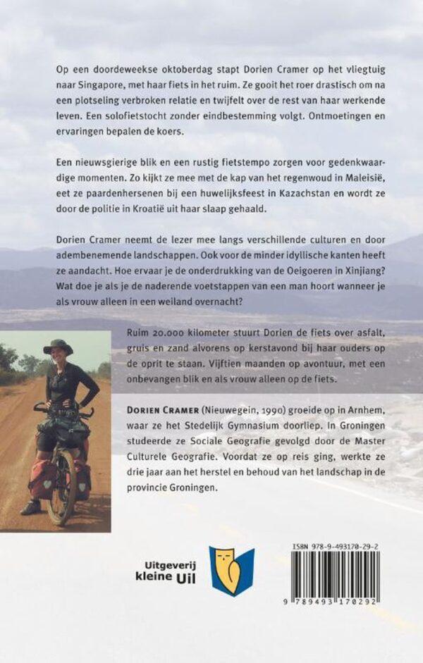 Onbevangen | Dorien Cramer 9789493170292 Dorien Cramer Kleine Uil   Fietsgidsen, Reisverhalen Azië