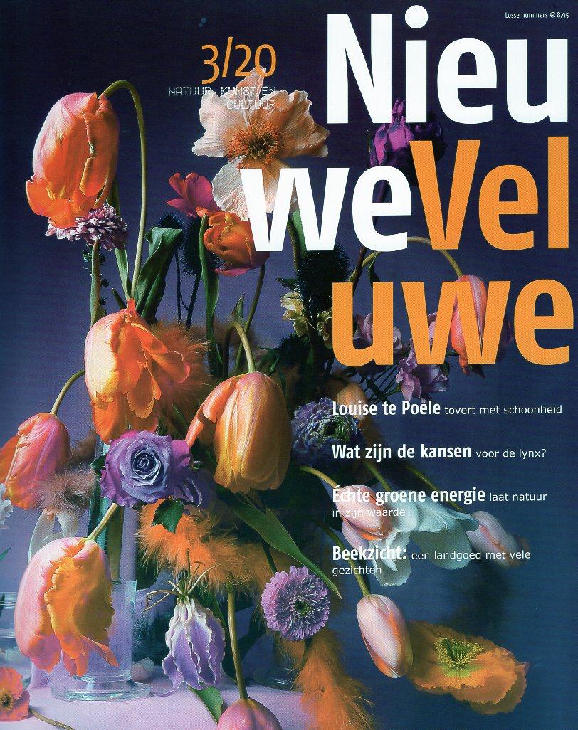 Nieuwe Veluwe 20/3 herfst 2020 TNV203  Nieuwe Veluwe Tijdschriften  Reisgidsen