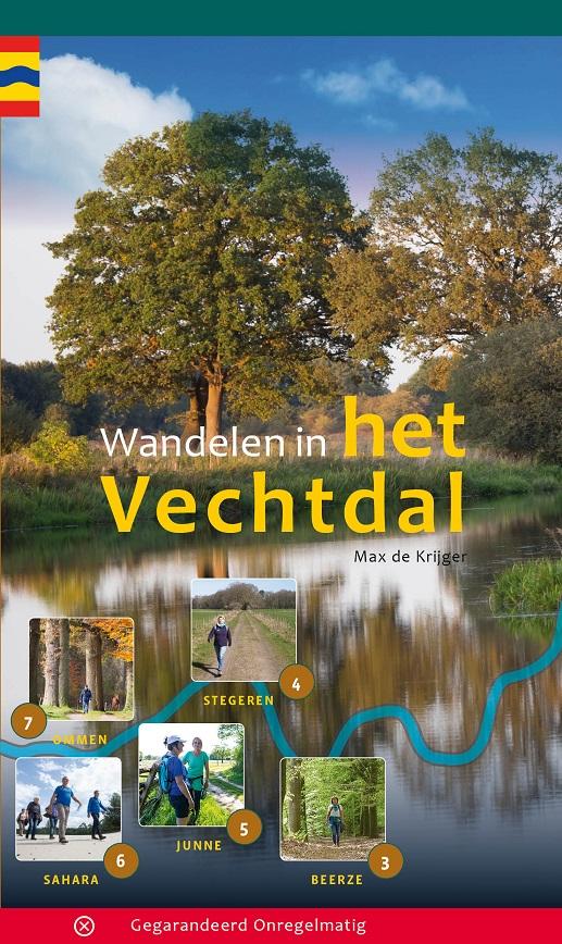 Wandelen in het Vechtdal | wandelgids 9789078641872 Max de Krijger Gegarandeerd Onregelmatig   Wandelgidsen Kop van Overijssel, Vecht & Salland