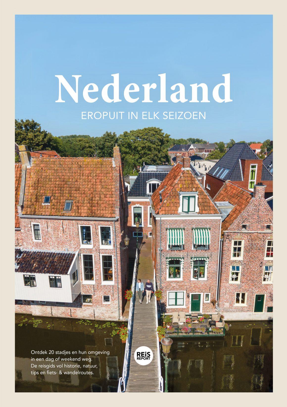 Nederland - Eropuit in elk seizoen 9789083042787 Marlou Jacobs en Godfried van Loo REiSREPORT   Reisgidsen Nederland
