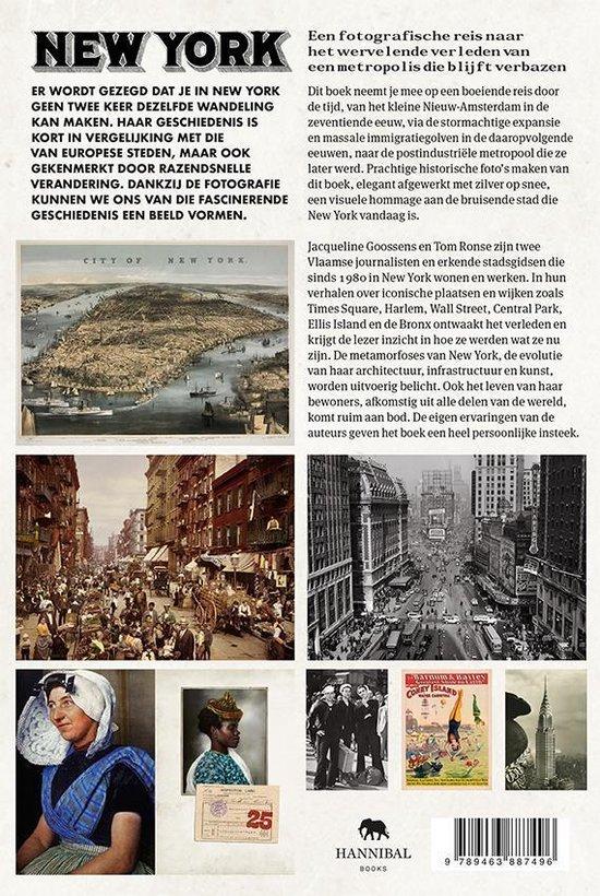 New York - een fotografische reis 9789463887496 Jacqueline Goossens en Tom Ronse Metsu   Fotoboeken, Historische reisgidsen New York, Pennsylvania, Washington DC