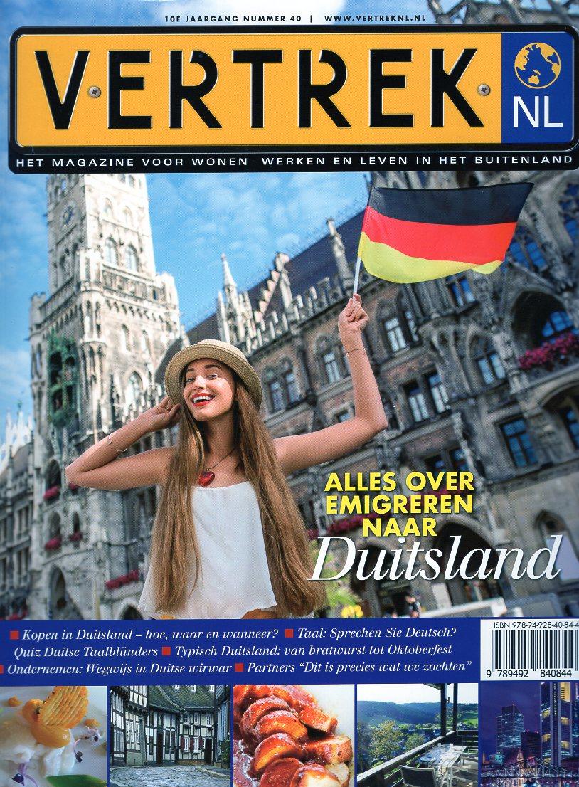 VertrekNL 40 Duitsland 9789492840844  Personalia   Reisgidsen Duitsland