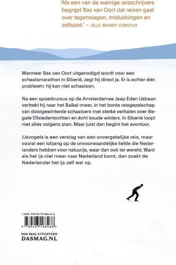 IJsvogels 9789493168466 Bas van Oort Das Mag   Wintersport Reisinformatie algemeen