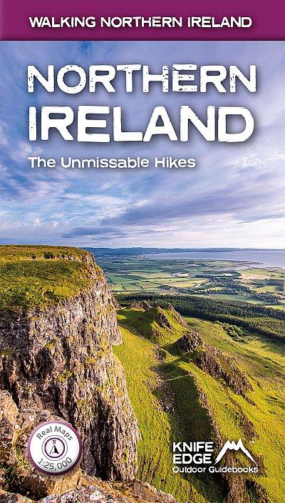 Northern Ireland | wandelgids Noord-Ierland 9781912933129  Knife Edge   Wandelgidsen Belfast, Ulster