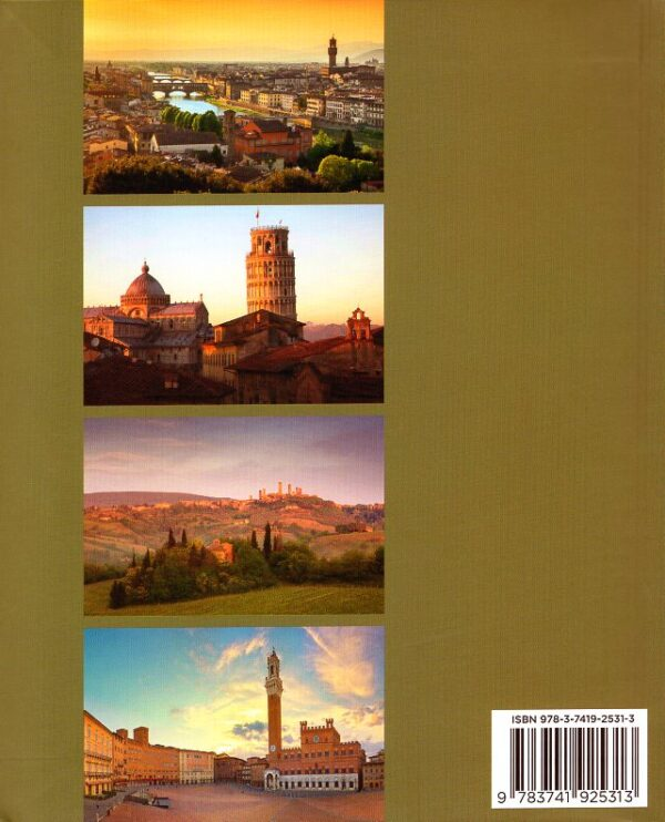 Toscana | fotoboek Toscane 9783741925313  Könemann serie compact  Fotoboeken Toscane, Florence