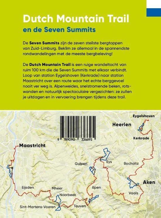 Dutch Mountain Trail | wandelgids Zuid-Limburg 9789090336695 Toon Hezemans, Thijs Horbach Moving Mountains   Meerdaagse wandelroutes, Wandelgidsen Maastricht en Zuid-Limburg