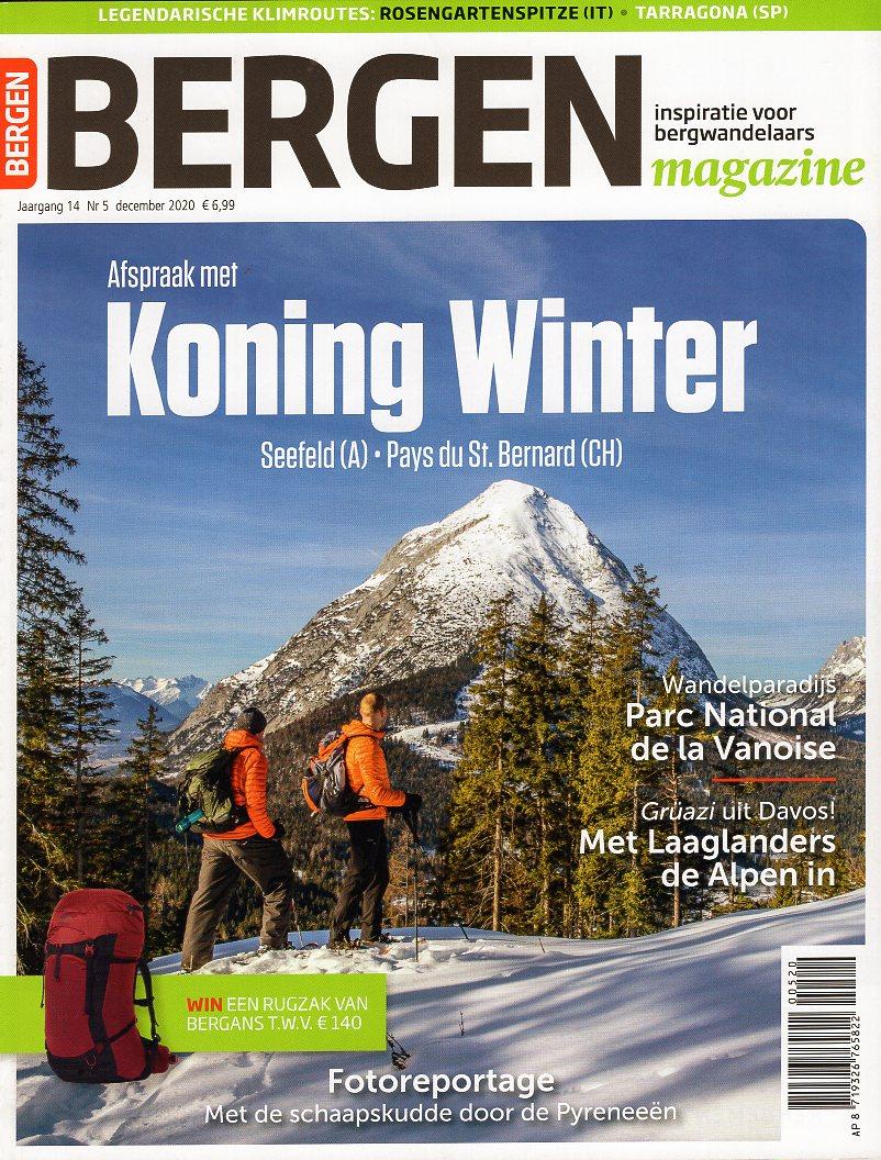 Bergen Magazine december 2020 BM2020E  Tijdschriften, Virtu Media Bergen Magazine  Bergsportverhalen, Wandelreisverhalen Reisinformatie algemeen, Zwitserland en Oostenrijk (en Alpen als geheel)
