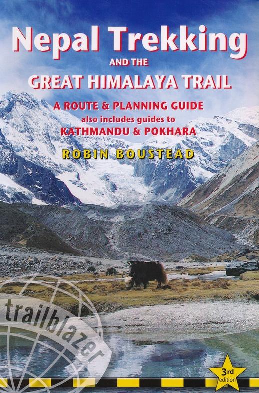 Nepal Trekking 9781912716166  Trailblazer Walking Guides  Meerdaagse wandelroutes, Wandelgidsen Nepal