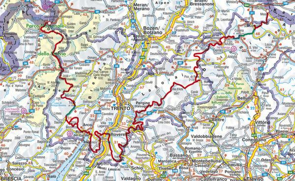 Rother wandelgids Sentiero della Pace   Rother Wanderführer 9783763345625  Bergverlag Rother RWG  Meerdaagse wandelroutes, Wandelgidsen Zuid-Tirol, Dolomieten