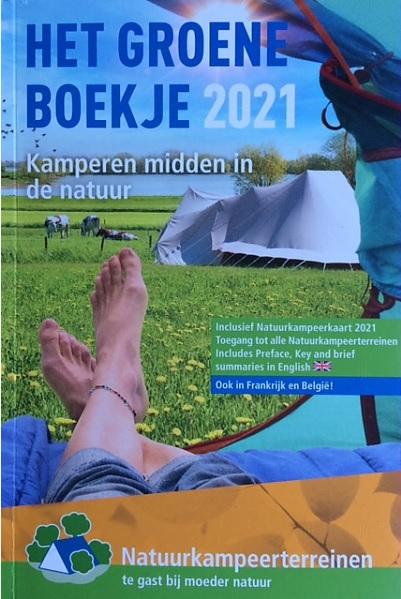 Het Groene Boekje 2021 9789082009774  De Groene Koepel   Campinggidsen Nederland