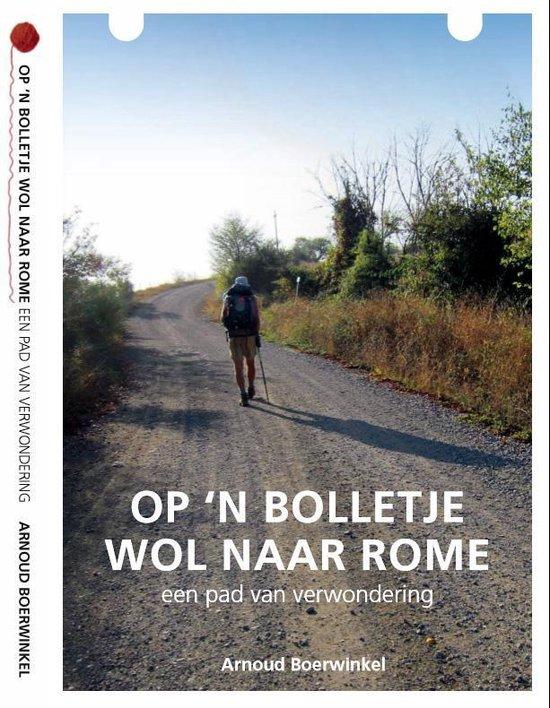 Op een bolletje wol naar Rome 9789462283299 Arnoud Boerwinkel Mastix Press   Lopen naar Rome, Reisverhalen Europa
