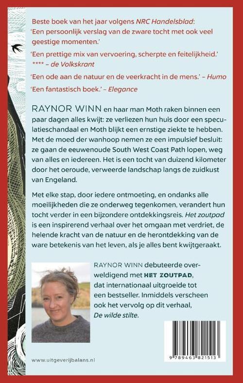 Het zoutpad | Raynor Winn 9789463821513 Raynor Winn Balans   Wandelreisverhalen Groot-Brittannië