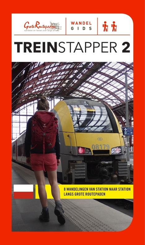 Treinstapper 3 | wandelgids 9789492608109  Grote Routepaden Topogidsen  Wandelgidsen Vlaanderen