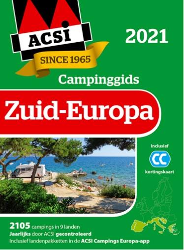 ACSI campinggids Zuid Europa 2021+ app) 9789493182066  ACSI   Campinggidsen Zuid-Europa / Middellandse Zee