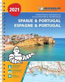 460  wegenatlas Spanje/Portugal 1/400.000 2021 9782067249264  Michelin Wegenatlassen  Wegenatlassen Spanje