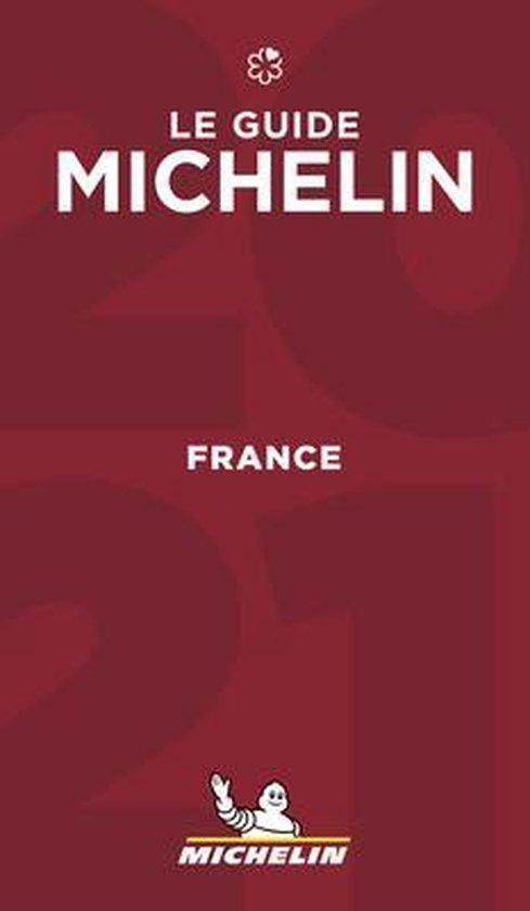 Michelin Gids Frankrijk | France 2021 9782067250390  Michelin Rode Jaargidsen  Hotelgidsen, Restaurantgidsen Frankrijk