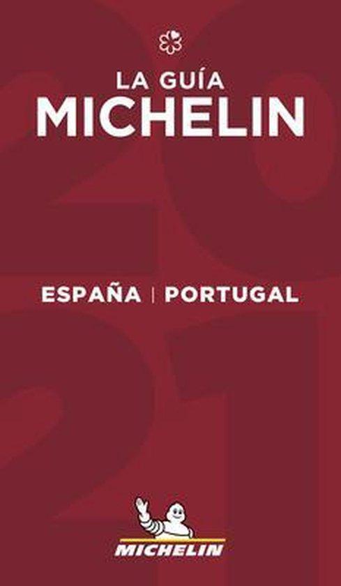 Michelin Gids Spanje (España) en Portugal 2021 9782067250437  Michelin Rode Jaargidsen  Hotelgidsen, Restaurantgidsen Spanje